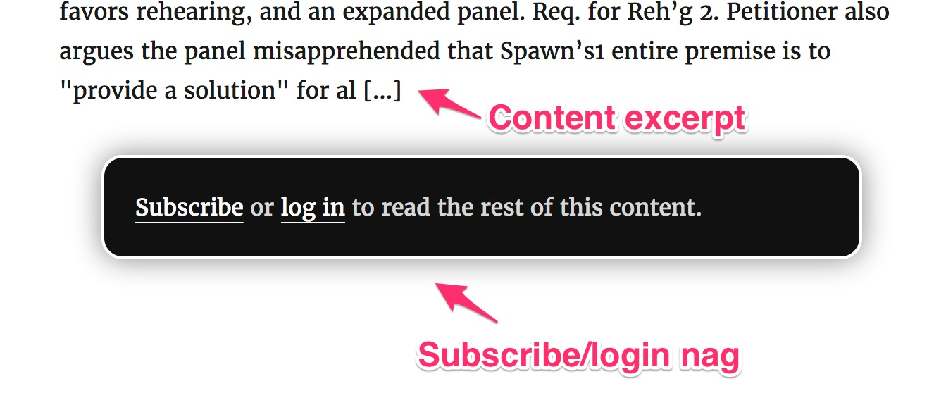leaky paywall subscribe nag