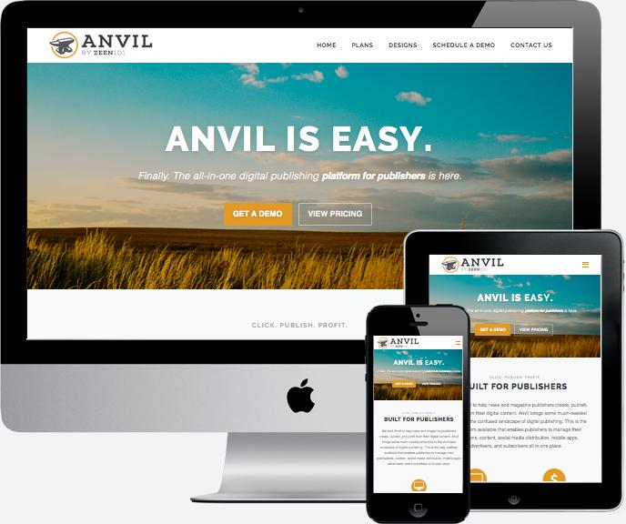 Anvil is easy.