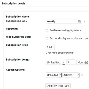 subscription-level-settings