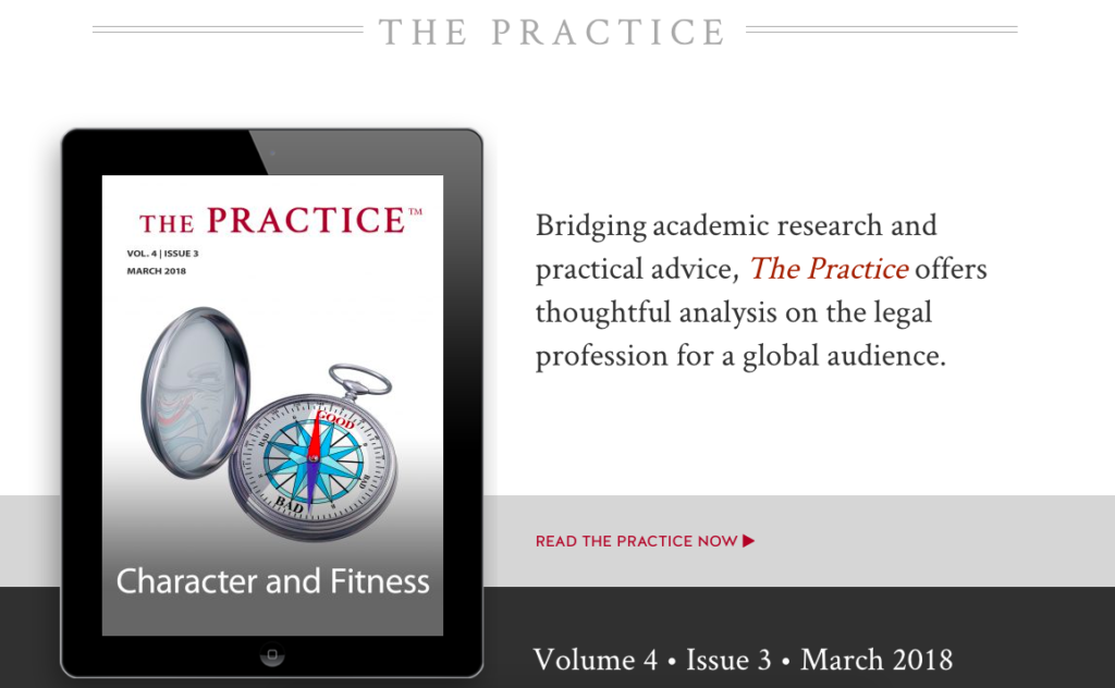 The Practice Digital Issue