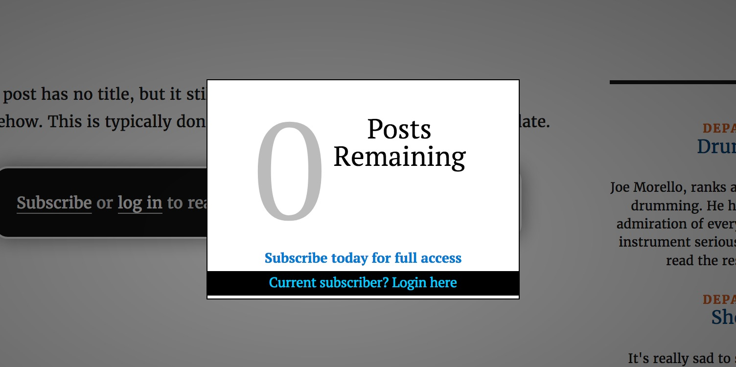 leaky paywall zero remaining nag